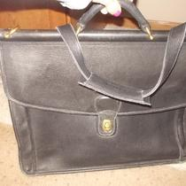 Coach Beekman Leather Briefcase Photo