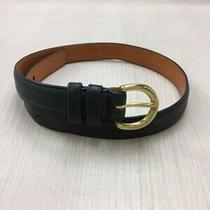 Coach Belt/leather/grn/plain Photo