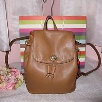 Coach Biscuit/tan Parker Leather Backpack Nwt 24385 Wow Lk  Photo