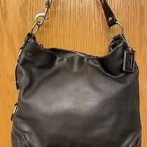 Coach Black 10616 Leather Carly Shoulder Hobo Bag Purse Satchel Tote Handbag Photo