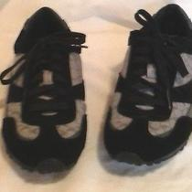 Coach Black and Grey Sneakers Rhoda Size 6m Photo