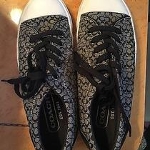 Coach Black and White Women's Sneakers Photo