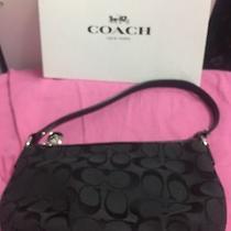 Coach Black Canvas Handbag  Photo