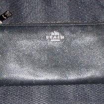Coach Black Clutch Zipper Wallet Photo