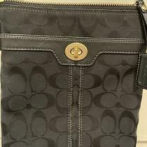 Coach Black Crossbody Purse Photo