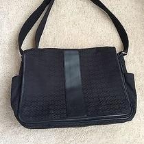 Coach Black Diaper/laptopbag Photo