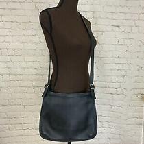Coach Black Glove Leather Shoulder Crossbody Minimalist Bag Purse Minimal 9146 Photo