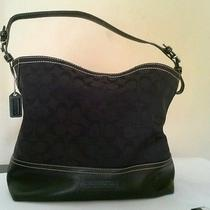 Coach Black Handbag Photo
