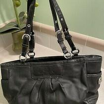 Coach Black Handbag Purse A1072-F13759 Photo