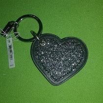 Coach Black Heart Key Fob Photo