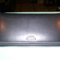 Coach Black Leather Checkbook Wallet- Excellent Conditon Photo