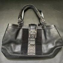 Coach Black Leather Handbag Photo