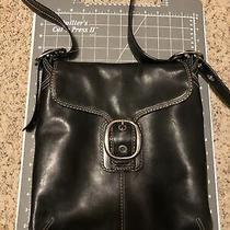 Coach Black Leather Hobo Handbag Purse A0993-F13355 Euc 12x12x 3 Photo