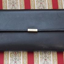 Coach Black Leather Wallet/clutch