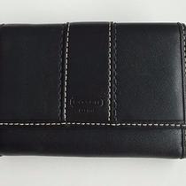 Coach Black Leather Wallet Small/organizer Photo