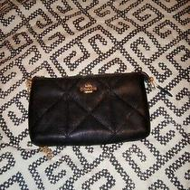 Coach Black Leather Wristlet Photo