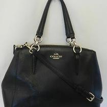 Coach Black Mini Christie Carry-All Purse F36704 Photo