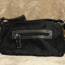 Coach Black Mini Tote  Photo