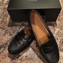 Coach Black Penny Loafers Photo