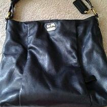 Coach Black Shoulder Purse Photo
