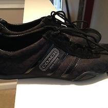 Coach Black Sneakers Size 8 Photo