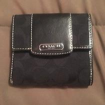 Coach Black Wallet Photo