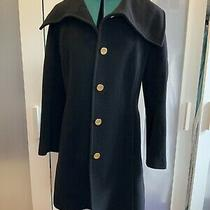 Coach - Black Wool Winter Coat - Size M Photo