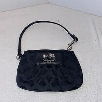 Coach Black Wristlet Handbag Photo