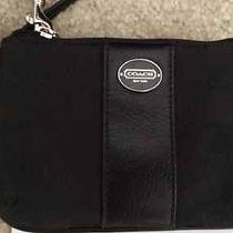 Coach Black Wristlet New in Box Photo