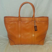Coach Bleecker Legacy Weekend Tote-Great Price Photo