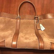 Coach Bleecker Suede Weekend Tote Photo