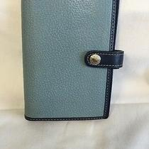 Coach Blue Leather Wallet Photo