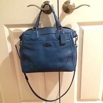 Coach Blue Micke Satchel  Photo