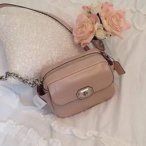 Coach Blush Pink Leather Camera Bag F24843 Nwts  Retails 298.00 Photo