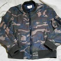 Coach Bomber Camo Flight Jacket Size L Photo