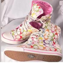 Coach Bonney Multicolor High Top Sneakers  Photo