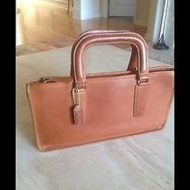 Coach Bonnie Cashin Rare Vintage Leather Satchel Attache Bag Photo