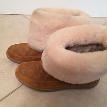 Coach Booties Size 8 Photo