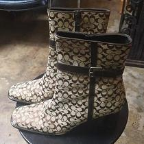 Coach Boots Size 8 Photo