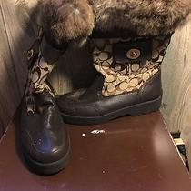 Coach Boots Size 9 Photo