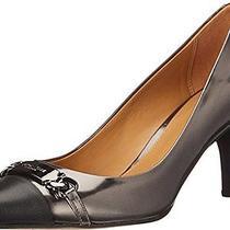 Coach Bowery Women's Gray Heels Size 8m Photo
