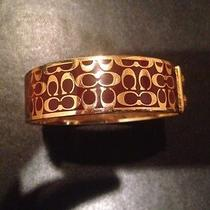 Coach Bracelet (Gold and Burgundy) Photo