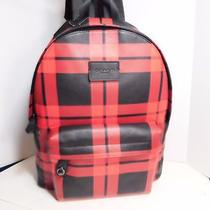 Coach - Brand New With Tag  Leather Large Backpack Photo