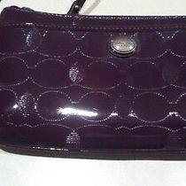 Coach Brand  Wristlet/purse for Women Purple/brand New With Tags Photo