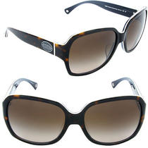Coach Bridget Hc8043f 508913 Dark Tortoise / Dark Brown Gradient Lens Photo