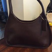 Coach Brown Leather Handbag Photo