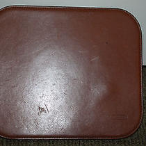 Coach Brown Leather Mouse Pad Photo