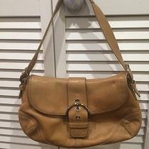 Coach Brown Leather Purse Photo