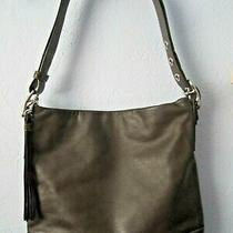 Coach Brown Leather Soho Slim Duffle Crossbody Messenger Tote Bag Purse 1414 Photo