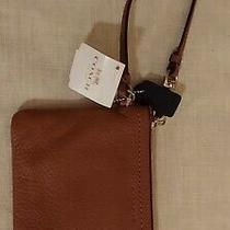 Coach Brown Leather Wristlet Photo